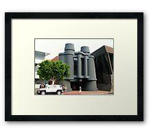 Binoculars, anyone? Framed Print
