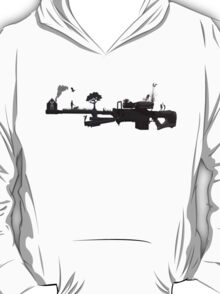 sniper - love and peace T-Shirt