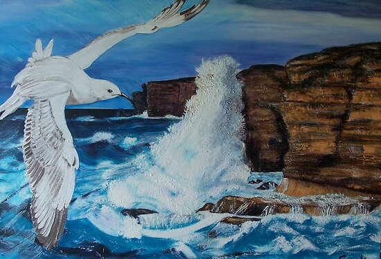 Seagull and the Power by Ciska