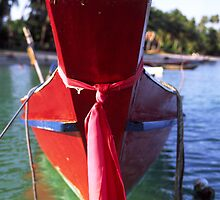 Red Boat by John Violet
