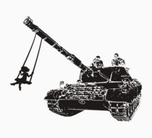 tank kids - love and peace Kids Clothes