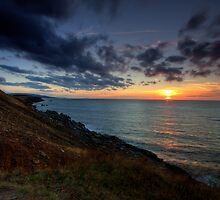 Cap Le Moine Sunset by EvaMcDermott