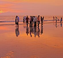 Juhu Beach, Mumbai by David Clark