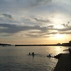 Evening at Kilkee beach by Ashley Boland