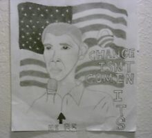 Barack Obama Poster by jalmoree