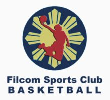 Filcom Sports Club Basketball Logo 2 by discoden