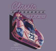 """Classic Endurance Porsche 917/20 """"Pink Pig"""" by JohnGo"""