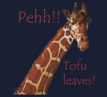 I hate Tofu leaves by CanDuCreations