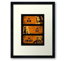 The Man The Elf The Dwarf Framed Print
