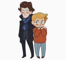 Sherlock and Watson by DaFluff
