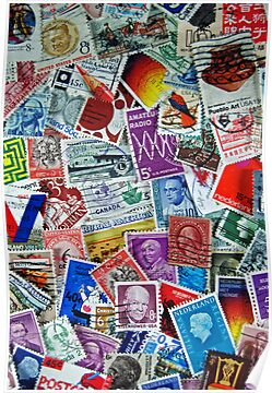 Global Stamps by Maria Dryfhout