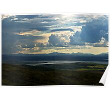 Looking to Inch Island, County Donegal Poster