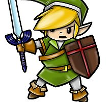 Link, Hero of Hyrule by WarpZoneGraphic