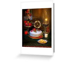 Santa's Cookies Greeting Card