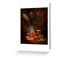 Old Masters Series (Print 8) Greeting Card
