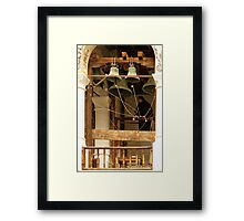"""""""For Whom the Bell Tolls"""" at Rila Monastery, Bulgaria Framed Print"""