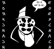 Rorschach - Alan Moore Remember Who Created Me by The Peanut Line