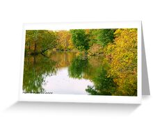 #610  Autumn Reflected Greeting Card