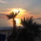 dusk at viareggio by paul berry