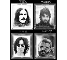 Fab Four Elements Photographic Print