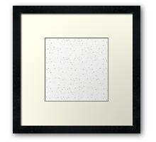 Star Speckled Sky Framed Print