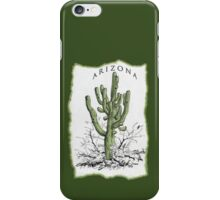 Arizona Saguaro art iPhone Case/Skin