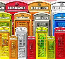 Telephone booth by valizi
