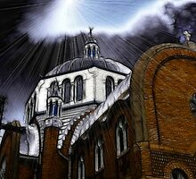 dark church 2 by Cheryl Dunning