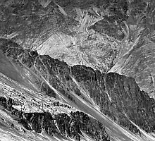 Organic textured Himalayan mountains in Ladakh by logomomo