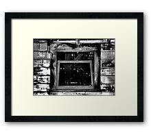 Enter - Read The Description Framed Print