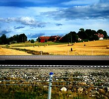 swedish countryside by opiumfire