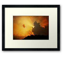Chasing the Sunset Framed Print