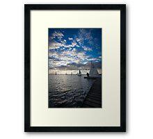 West Kirby Sailing Framed Print