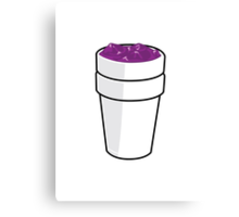 CODEINE CARTOON Canvas Print