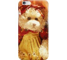 Lovely Teddy Bear dressed for a Party iPhone Case/Skin