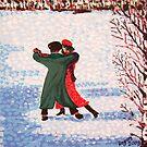 Snow Tango by Alan Hogan