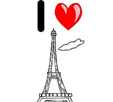I LOVE PARIS by leonchristo