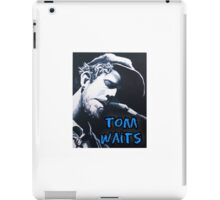 Tom Waits iPad Case/Skin