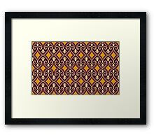 Abstract pattern 8 Framed Print