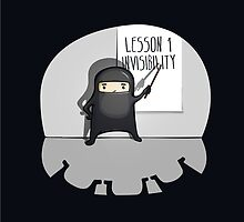The First lesson of a ninja is... by manolibera