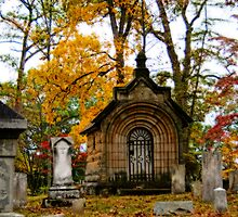 Autumn In The Cemetery by MClementReilly