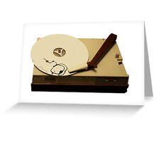 gypsy cloud vinyl Greeting Card