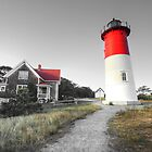 Nauset Light, Massachusetts. by capecodart