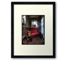 Even the wicked must rest... Framed Print