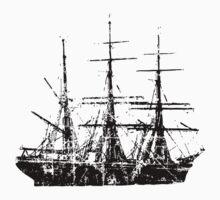 Sailing Ship Vintage Kids Clothes
