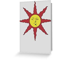 Dark Souls Solaire Of Astora Sunbro Greeting Card