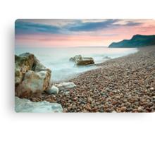 Eype Beach at Dusk Canvas Print