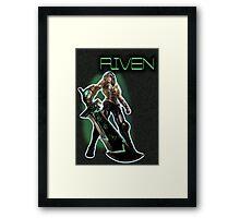 Redeemed Riven Framed Print