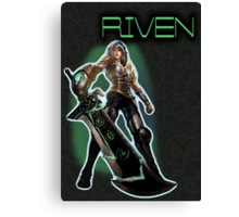 Redeemed Riven Canvas Print