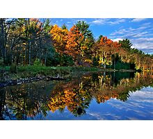 Fall Reflection Landscape Photographic Print